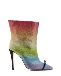 Marco De Vincenzo Embellished Ankle Boots
