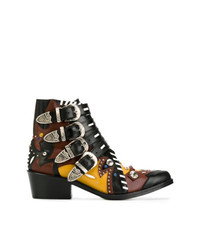 Toga Pulla Strap Ankle Boots