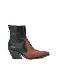 Givenchy Two Tone Ankle Boots