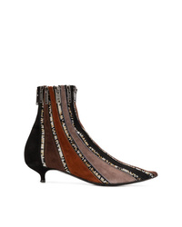 Sonia Rykiel Zipped Ankle Boots