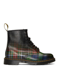 Multi colored Leather Casual Boots