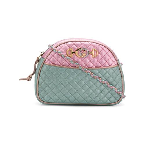 d0656a800f1 ... Gucci Metallic Colour Block Clutch Bag ...