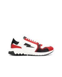 Neil Barrett Lightning Bolt Sneakers
