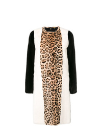 Giambattista Valli Animal Print Fur Coat