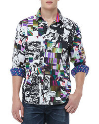 Multi colored Long Sleeve Shirt