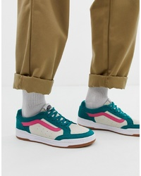 Vans Highland Colour Block Trainers In White