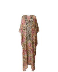 Etro Paisley Print Kaftan Dress