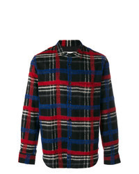 Multi colored Plaid Dress Shirt
