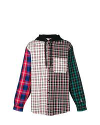 Hilfiger Collection Lewis Hamilton Check Hoodie Shirt
