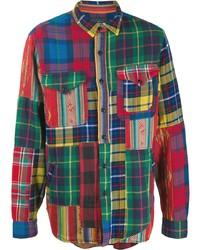 Polo Ralph Lauren Patchwork Checked Shirt