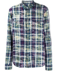 John Varvatos Plaid Shirt