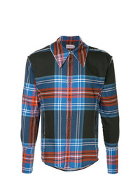 Charles Jeffrey Loverboy Tartan Shirt