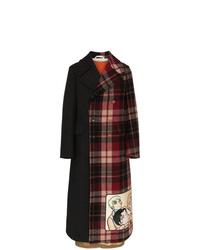 Gucci Double Breasted Manga Wool Coat