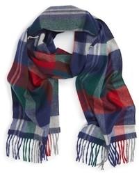 Plaid cashmere scarf medium 1101786