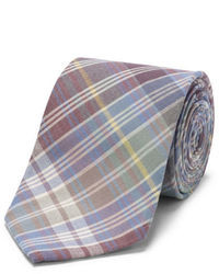 Multi colored Plaid Tie