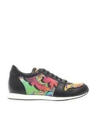 Multi colored Print Athletic Shoes