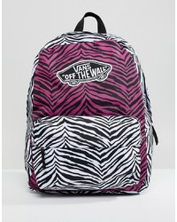 Vans Mixed Animal Print Backpack