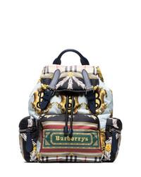 Burberry Multicoloured Medium Cotton Backpack