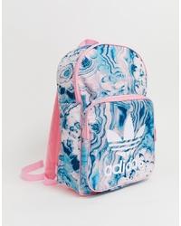 adidas Originals Pink Print Backpack
