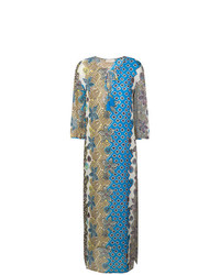 Tory Burch Mixed Print Beach Dress