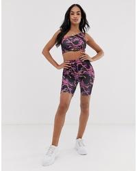 ASOS DESIGN Co Ord Legging Shorts In Lightning Print