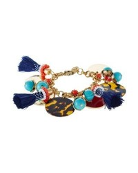 J.Crew Bodrum Bracelet Multi Coloured