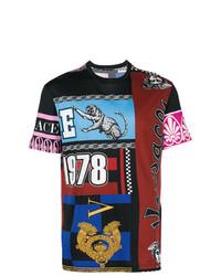 Versace 1978 Printed T Shirt