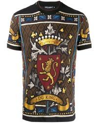 Dolce & Gabbana Dg King Printed T Shirt