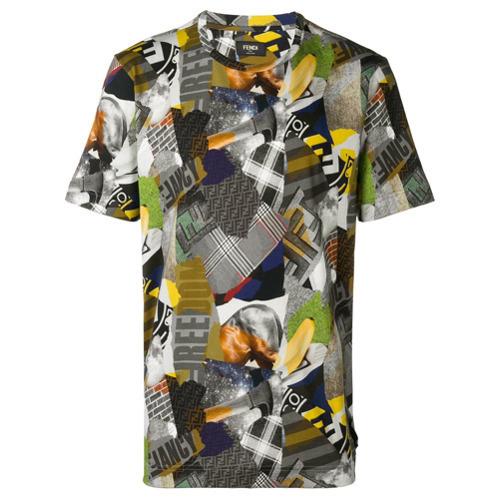 Fendi Printed T Shirt
