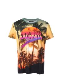 Balmain Summer Lightning T Shirt