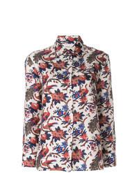 Multi colored Print Dress Shirt