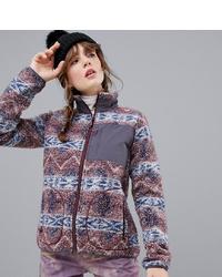 Burton Snowboards Premium Bombay Full Zip Fleece In Purple