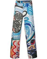 Charles Jeffrey Loverboy Art Mural Jeans