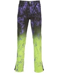 MJB Marc Jacques Burton Crixus Ombr Straight Leg Jeans