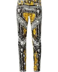 Graphic lion skinny jeans medium 179805