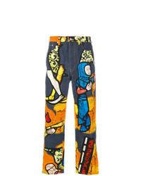 JW Anderson Printed Jeans