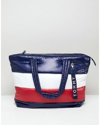 Tommy Hilfiger Flag Padded Tote Bag