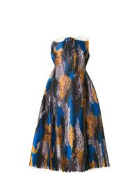 Marni Mikado Printed Satin Dress