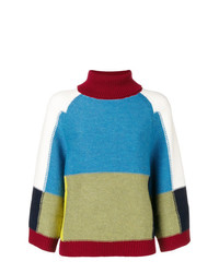 See by Chloe See By Chlo Colour Blocked Loose Sweater
