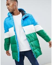 Hunter Original Colour Block Puffer Coat