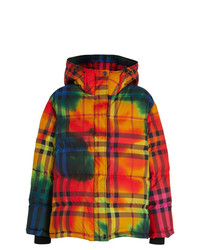 Burberry Print Vintage Check Puffer Jacket