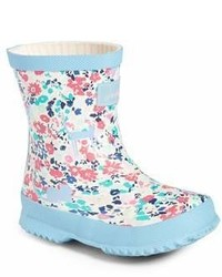 Multi colored Rain Boots