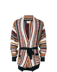 Multi colored Shawl Cardigan