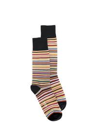 Ps By Paul Smith Multi Stripe Socks