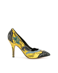 Isabel Marant Snakeskin Effect Pumps