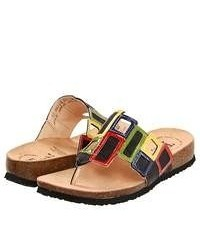 Multi colored Thong Sandals
