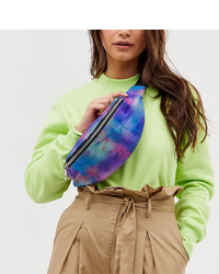 Monki Belt Bag In Tie Dye
