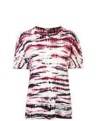 Proenza Schouler Tie Dye Short Sleeve T Shirt