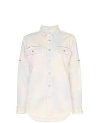 Ganni Hopewell Tie Dye Denim Shirt
