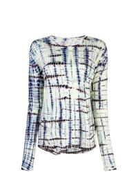 Proenza Schouler Tie Dye Long Sleeve T Shirt